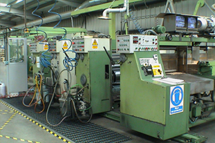 """TWO COLOR CURIONI HIGH-SPEED 65"""" BOX MACHINE"""